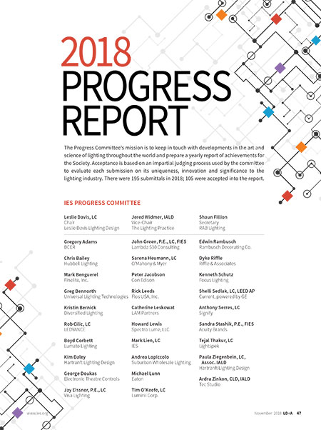 2018 Progress Report